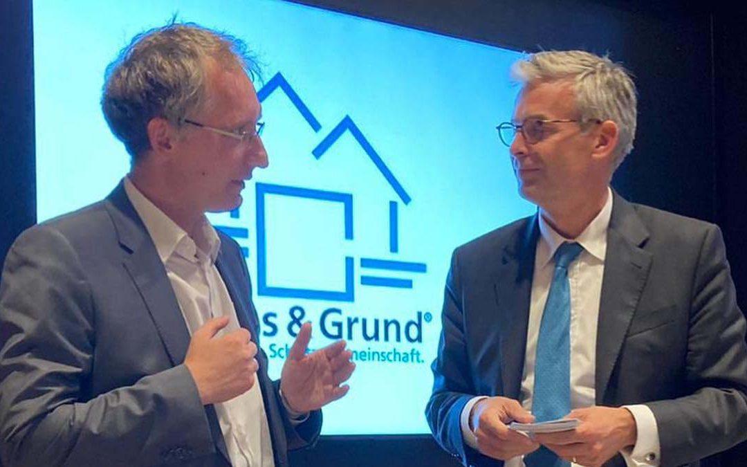 Podiumsdiskussion bei Haus&Grund in Erkner