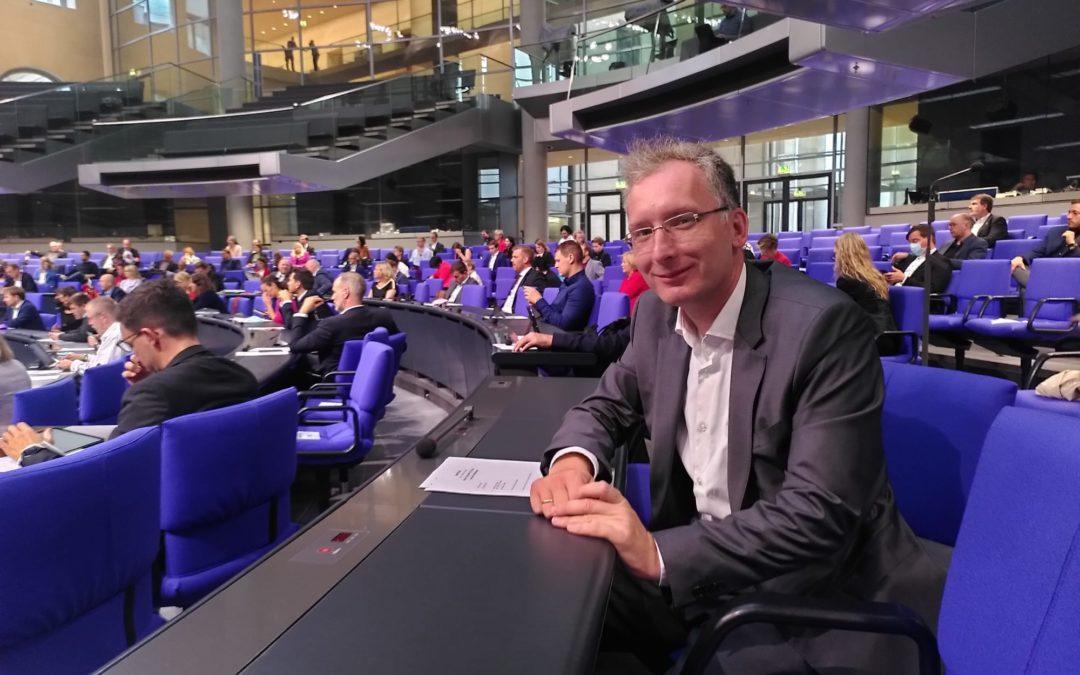 Start im Deutschen Bundestag